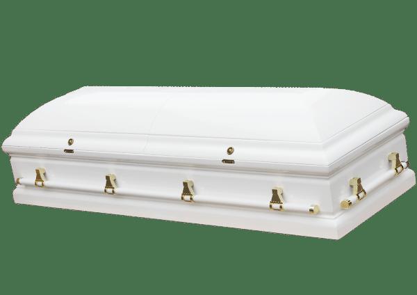 Cercueil SENLIS BLANC